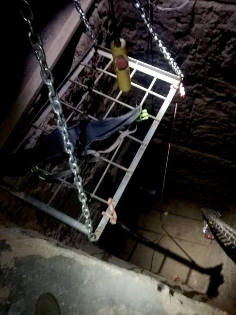 Mexico tunnel, Zenger