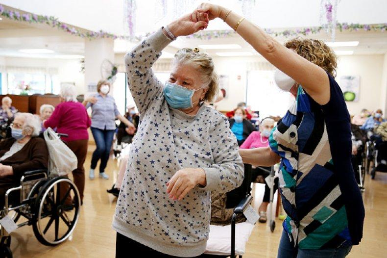 Nursing Home Staff Vaccine Mandate Biden Workforce