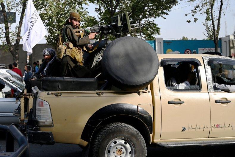 Taliban, fighters, Kabul, Afghanistan
