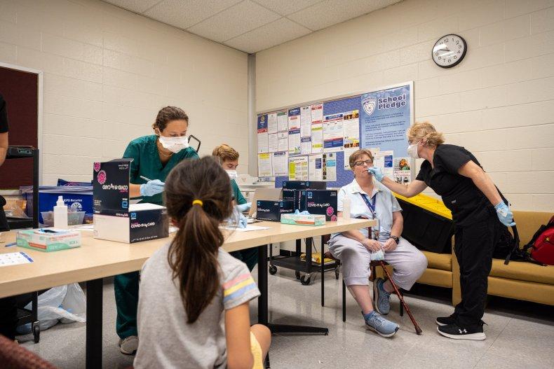 Louisville School COVID Testing
