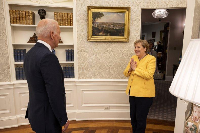 Biden Merkel