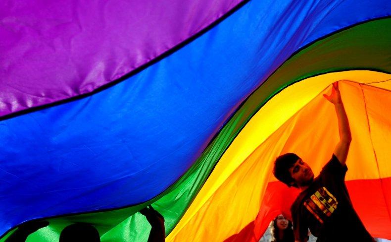 Oregon school pride BLM flag ban farmer