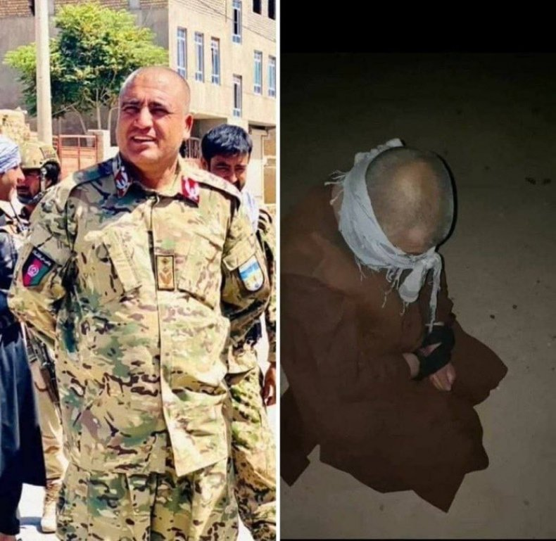 The Taliban Executed Badghis province police chief