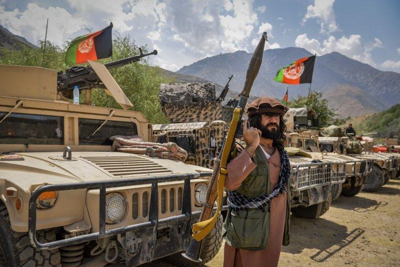 Afghans Opposed to the Taliban in Panjshir
