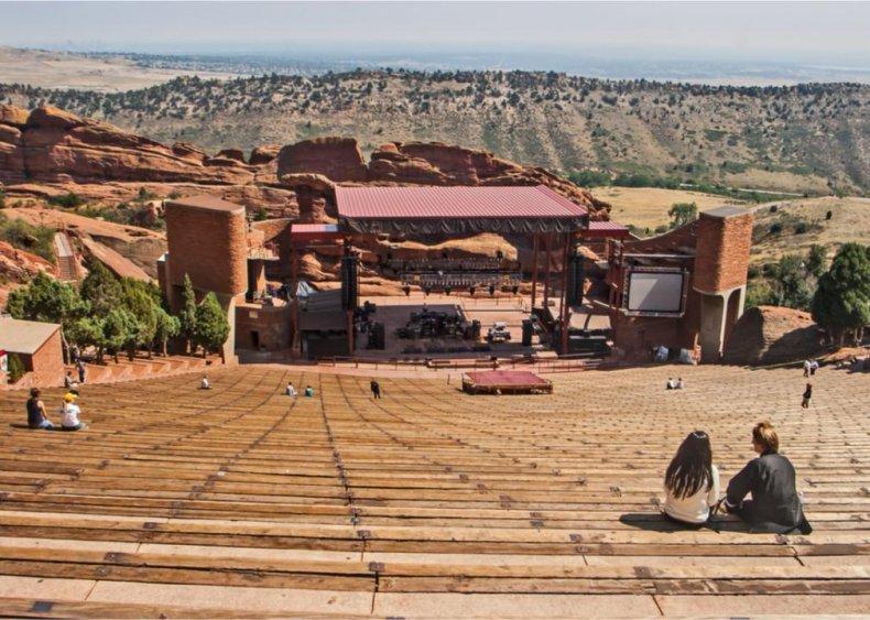 Colorado: Red Rocks Amphitheatre