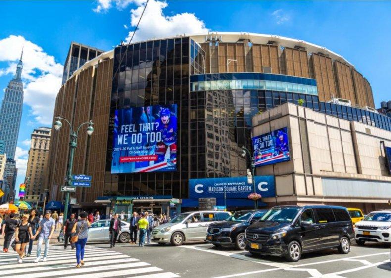 New York: Madison Square Garden