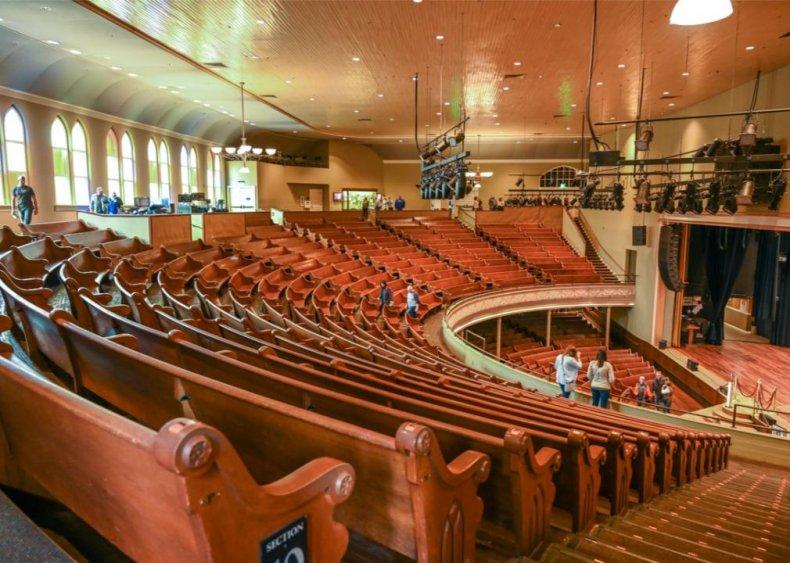 Tennessee: Ryman Auditorium