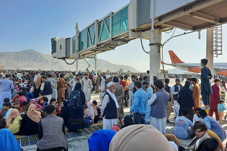Afghanistan Kabul Airport Taliban Ashraf Ghani