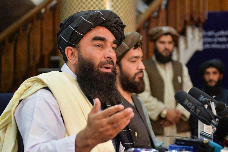 Taliban Spokesperson Women Shariah Afghanistan