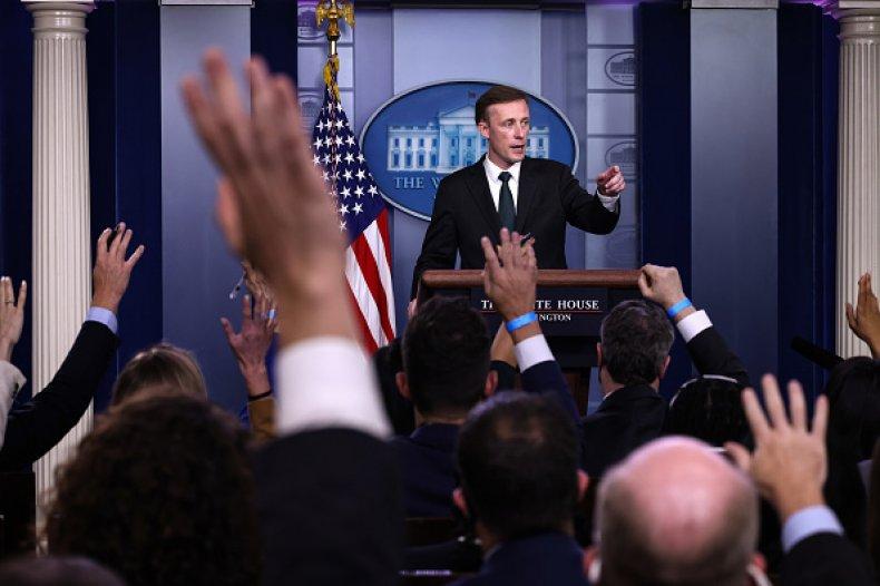 Jake Sullivan Biden Administration White House Afghanistan