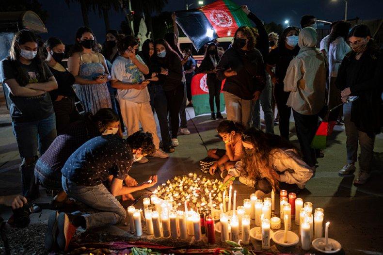 Afghan Protest Taliban Los Angeles