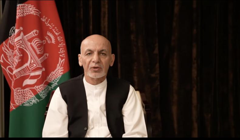 Ashraf Ghani Afghan President UAE