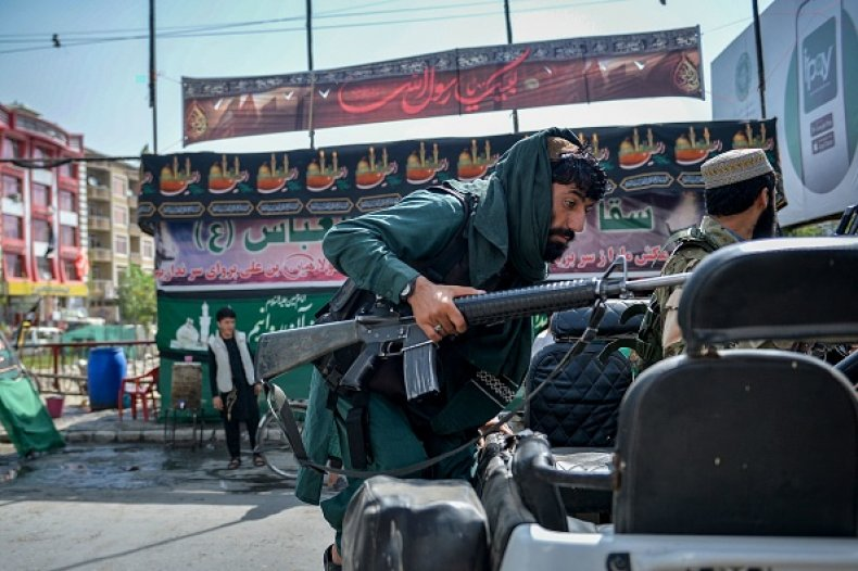 Taliban Fighter Afghanistan Kabul