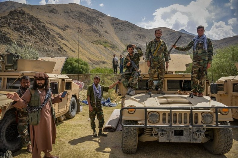 Afghan Forces Taliban Afghanistan