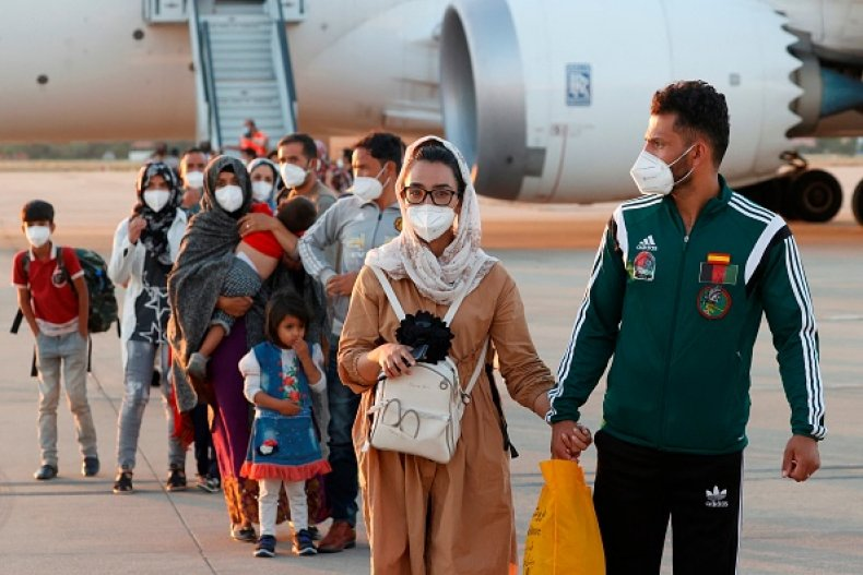 Afghanistan Spain Evacuation Taliban