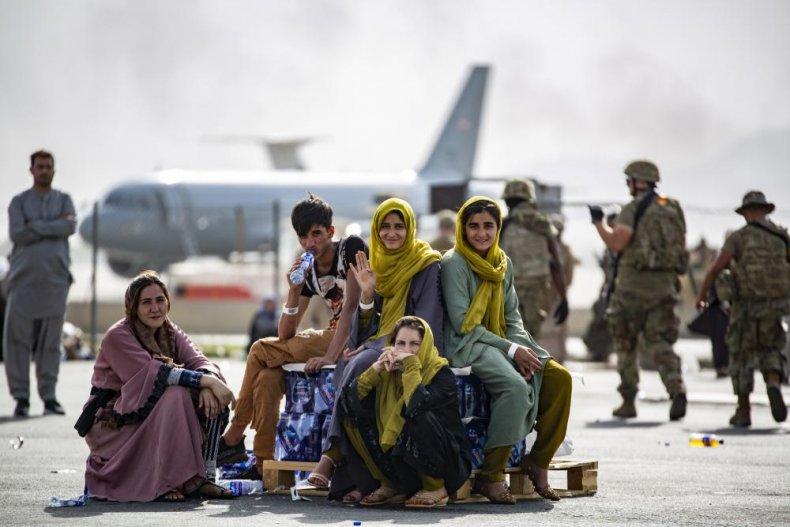 Afghan, evacuation, Hamid, Karzai, airport, Kabul