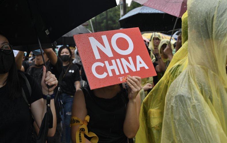 Taiwan says 'China dreams of emulating' Taliban