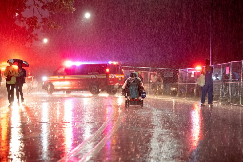 Hurricane Henri unleashed torrential rains