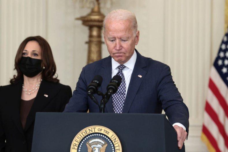 Joe Biden approval ratings down