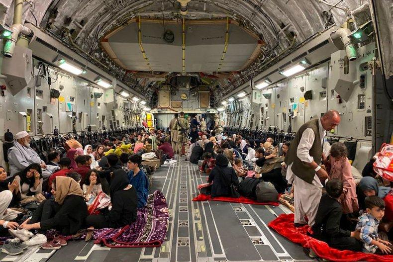 Afghans leave Afghanistan