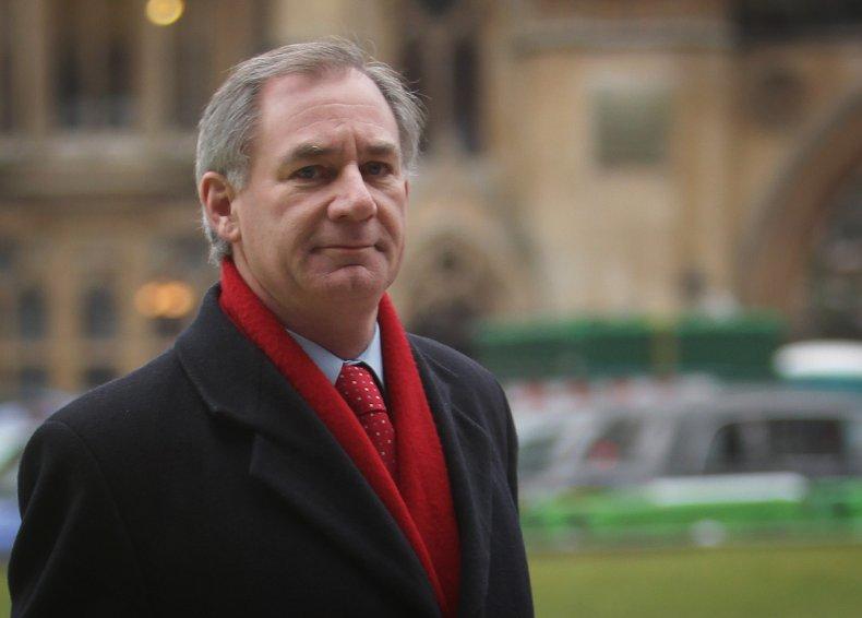 Geoff Hoon pictured in London, UK 2010