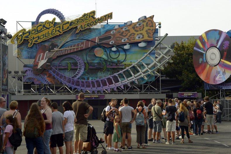 Rock' n Roller coaster at Disney Paris