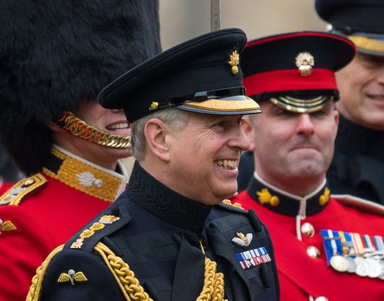 Prince Andrew and the Grenadier Guards