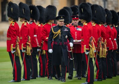 Prince Andrew in Colonel Role