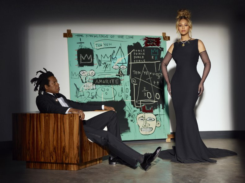 Beyonce and Jay-Z Tiffany campaign