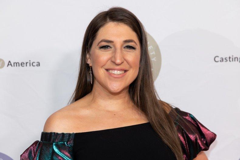 """New """"Jeopardy!"""" host Mayim Bialik"""