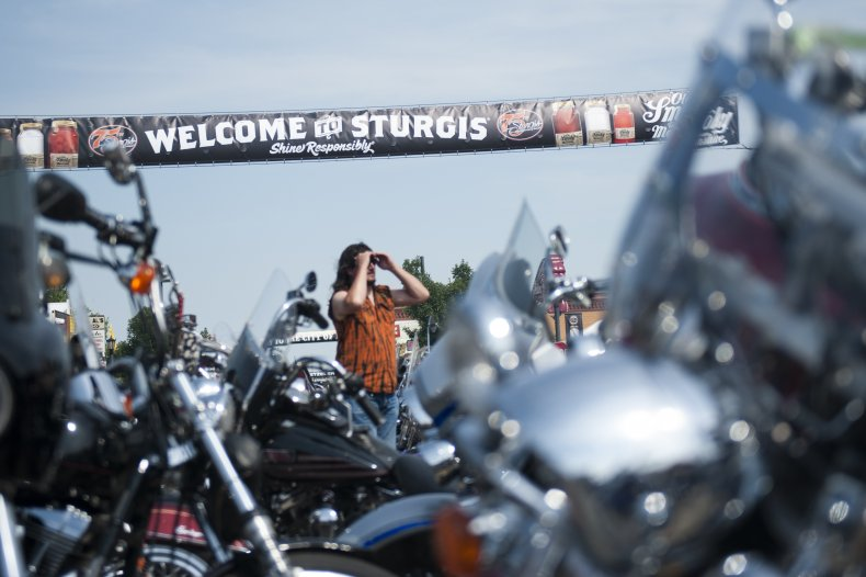 Annual Sturgis Motorcycle Rally Celebrates Its 75th