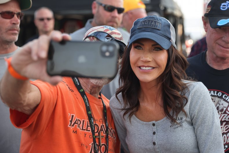 Thousands Gather For Annual Sturgis Motorcycle Rally