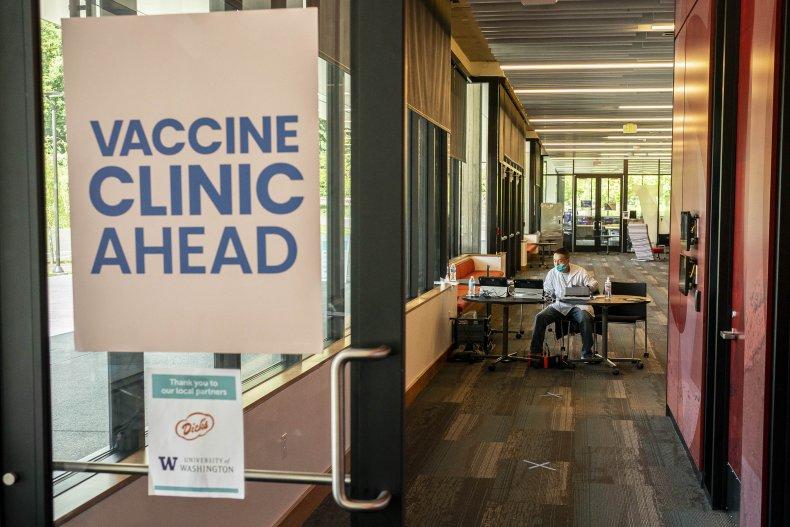 Washington vaccine, college