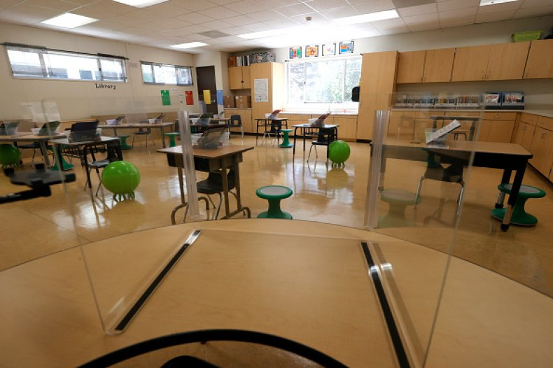 Teacher Classroom School COVID Oklahoma Lawmaker Stitt