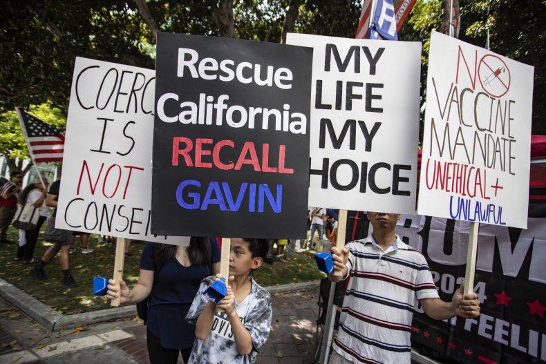 Democrat strategy California recall