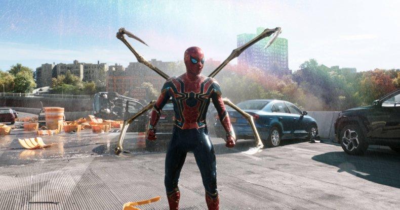 "Tom Holland as Peter Parker/Spider-Man in ""Spider-Man: No Way Home"" (2021) trailer"