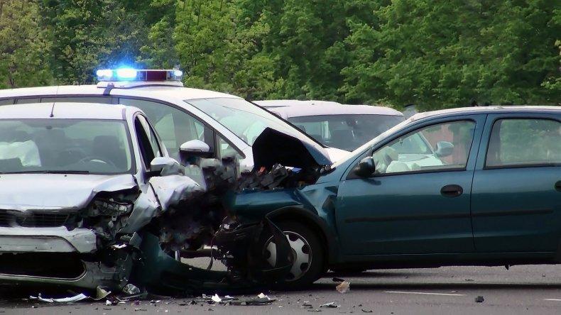 Joseph O'Connor Florida police car crash shoot