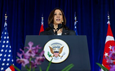 Kamala Harris Reaffirms U.S. Commitments In Singapore