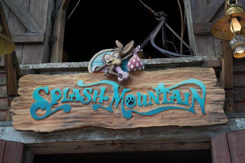 Splash Mountain ride at Walt Disney World