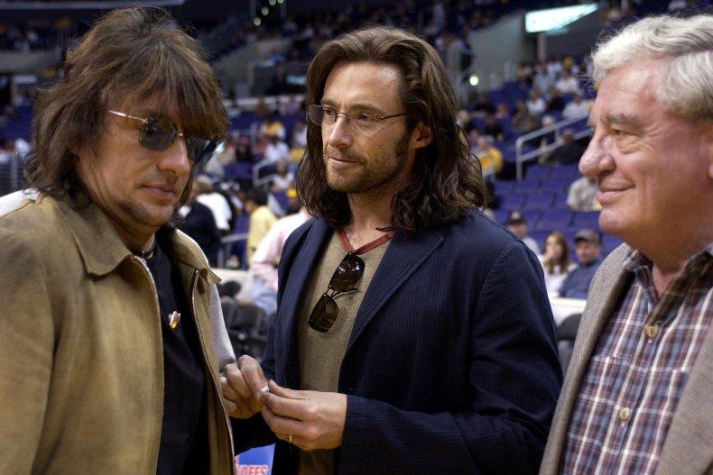 Hugh Jackman and his father Chris
