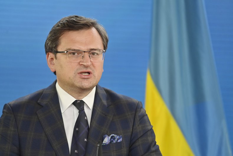 Ukrainian Foreign Minister In Berlin