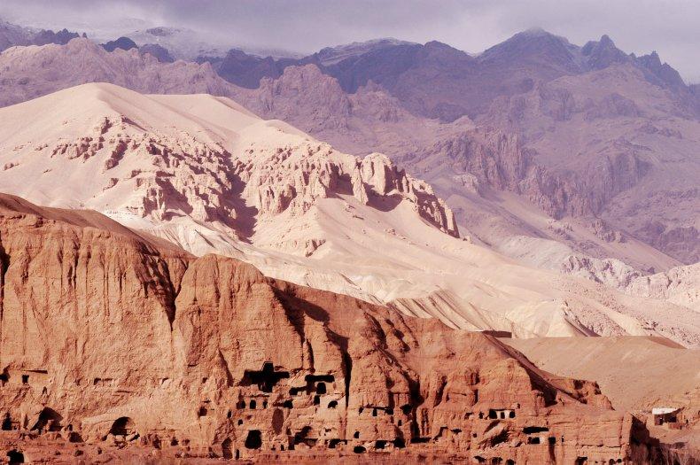 Afghanistan's Koh-E Baba mountains.