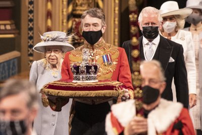 The Queen, Prince Charles and Crown