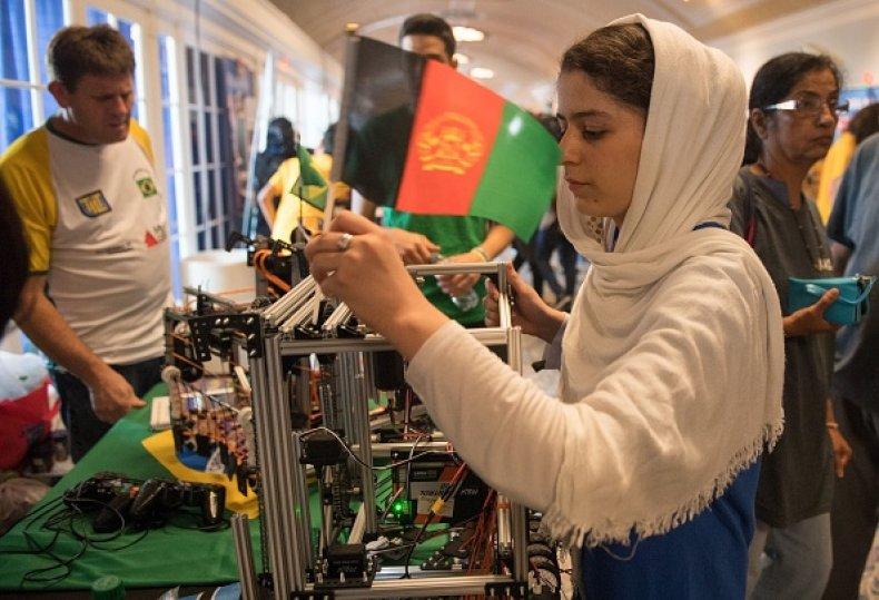Afghan Afghanistan Female Robotics Team Evacuation Taliban