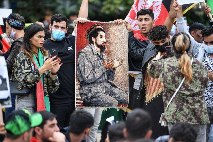 afghanistan taliban protest resistance