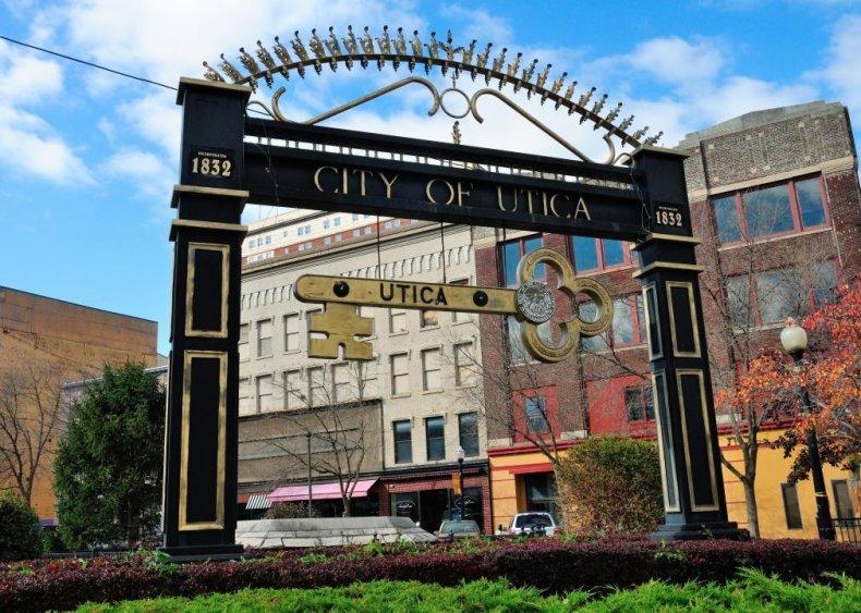 #26. Utica-Rome, New York