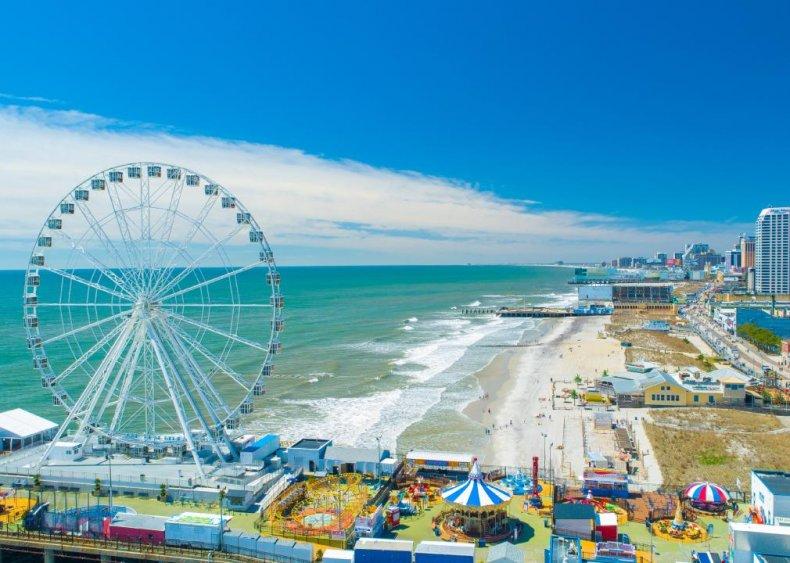#9. Atlantic City-Hammonton, New Jersey