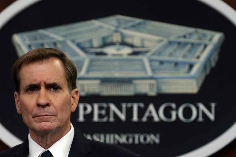 Pentagon Spokesperson Kirby And Army Maj. Gen.