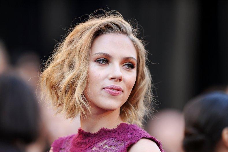 Scarlett Johansson at Oscars
