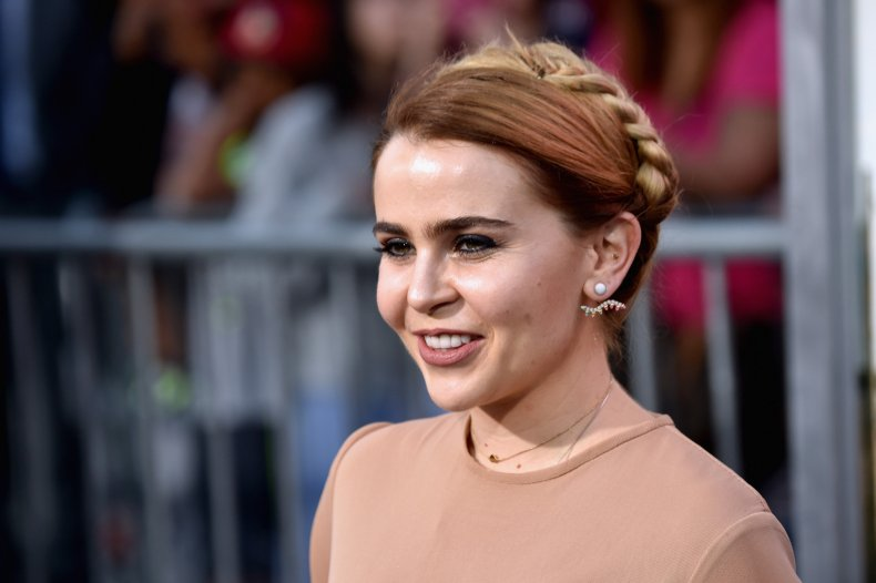 Mae Whitman at CHiPs premiere